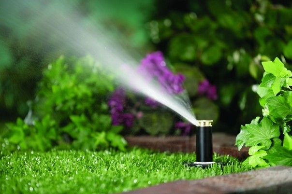 Irrigation and drainage systems by Crawford Landscaping in Marietta GA
