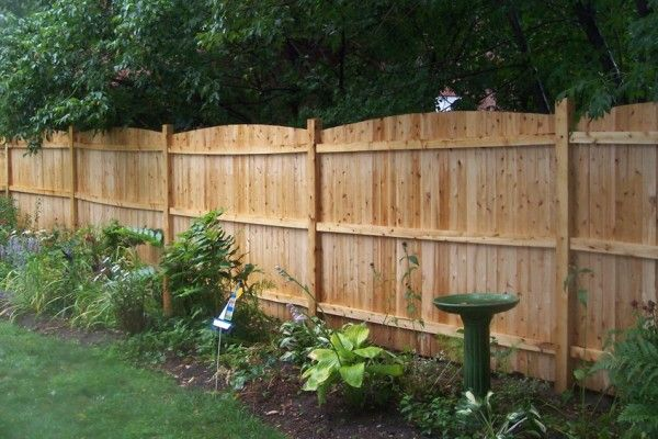 Custom fences and gates by Crawford Landscaping in Marietta GA