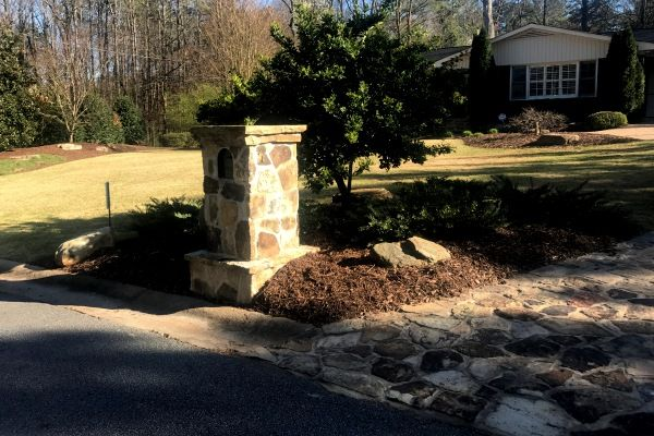 Landscape management by Crawford Landscaping in Marietta GA