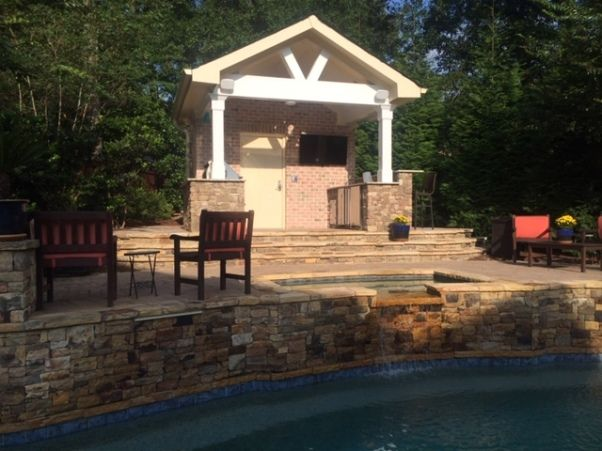 Landscape structures by Crawford Landscaping in Marietta GA