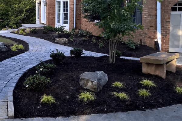 Residential landscaping services by Crawford Landscaping in Marietta GA