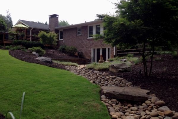 Weed control services by Crawford Landscaping in Marietta GA